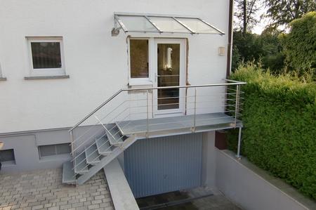 Neuer Wohnungseingang